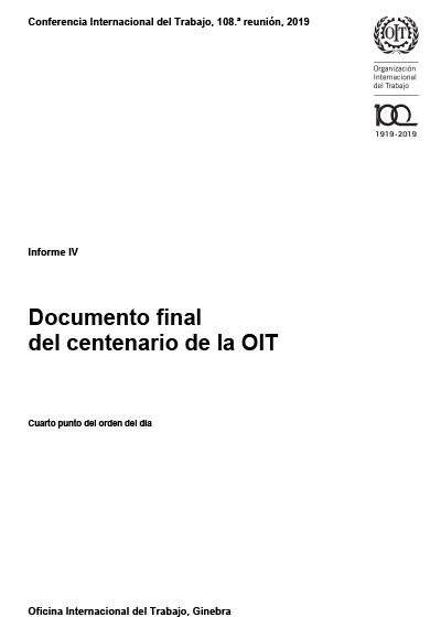 Documento final del centenario de la OIT